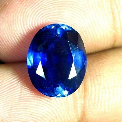9.35 Cts. Natural Heated Blue Sapphire Oval Precious Cut Excellent Quality Gem