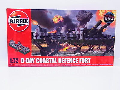 Interhobby 43964 Airfix A05702 D-Day Coastal Defence Fort 1:72 Bausatz NEU OVP