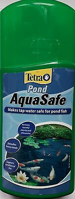 TETRA POND AQUASAFE WATER TREATMENT 250ml 4004218747210