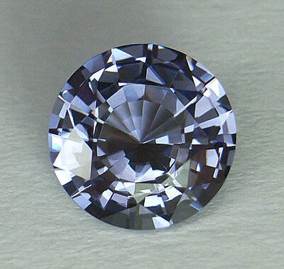 If/vvs1 Rare And Much Sought After Blue Color Round Cut Sri Lankan Spinel