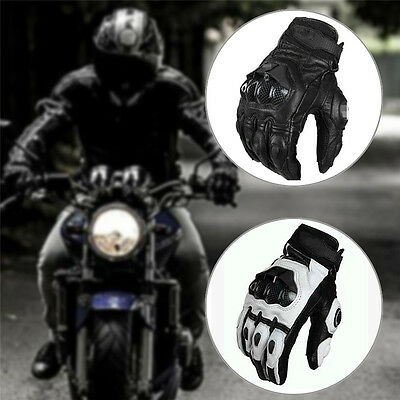 Cool Motorcycle Moto Racing Knight Leather Ride Bike Driving BMX ATV MTB Gloves