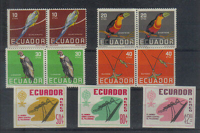 Ecuador Two sets unmounted mint