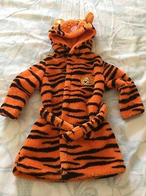 Disney Baby Tigger Housecoat 6-9 Month Preloved
