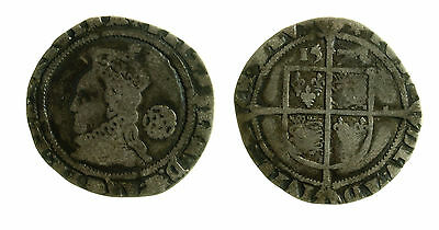 pcc2033_40) England Elizabeth 1st Sixpence 1573 Hammered Silver Coin