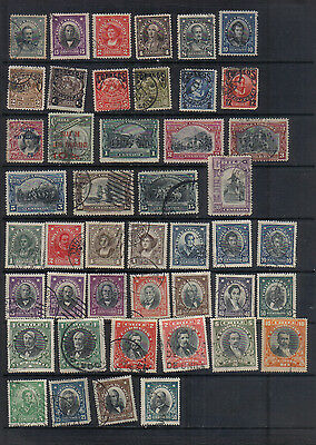Chile 1904-11 Collection