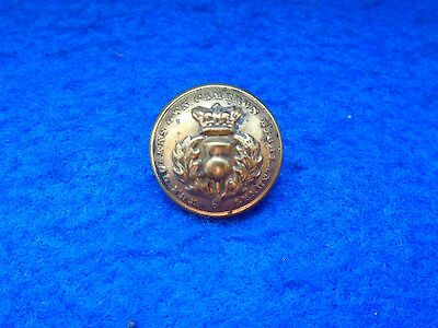 Victorian Queens Own Cameron Highlanders 18.5Mm Officers Brass Tunic Button