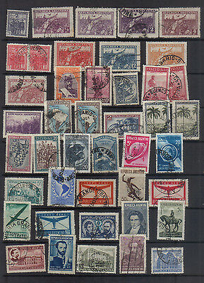 Argentina  1930-42 Used collection
