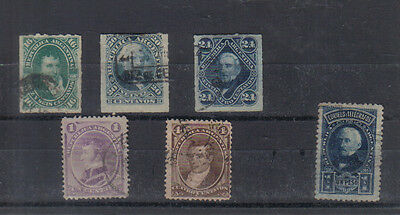 Argentina A few early stamps