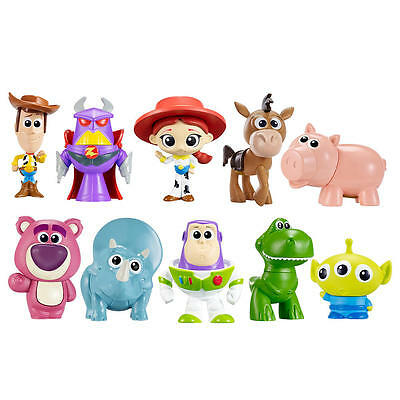 New Disney Pixar Toy Story Deluxe Mini Figure Set - 10 Pack Model:23867822