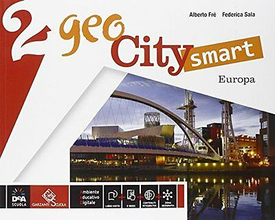 Geocity smart 2 +eb geografia sc.media fresala [9788869644412]