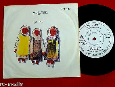 """THE CURE - Primary - Rare Australian 7"""" / Different label + Pic Sleeve"""