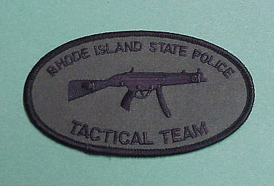 Rhode Island  Tactical Team  Ri  State Police Patch  Nice!  Free Shipping!!
