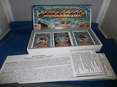 Battlecards World Conflict Starter Set: Pacific Theatre US vs Japan Card Game