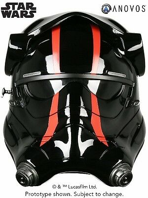 Anovos Star Wars Force Awakens First Order Special Forces TIE Pilot Helmet