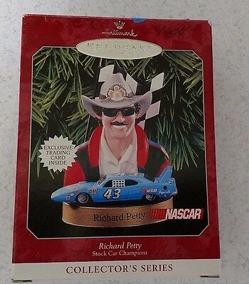 HALLMARK Richard Petty 1998 Christmas Keepsake Ornament Nascar Racing #43 Car