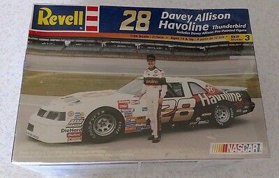 Davey Allison Revell Havoline Thunderbird 1:24 kit