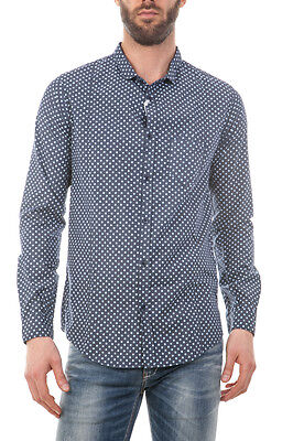 Camicia Imperial Shirt -45% Made in Italy Uomo Blu CZO5RRPL-2321