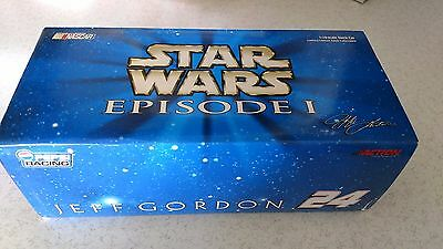 Jeff Gordon #24 Limited Edition Star Wars 1:24 Die Cast Car
