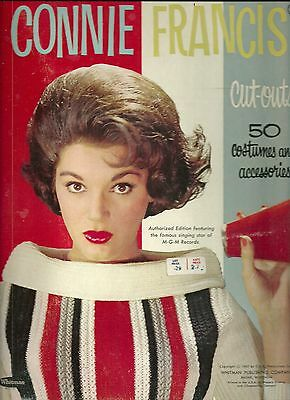 Connie Francis Uncut Original 1963 Whitman 1956