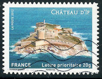 Timbre France Autoadhesif Oblitere N° 722 / Chateau D'if