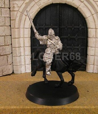 EOMER MOUNTED - Lord Of The Rings Metal Figure(s)