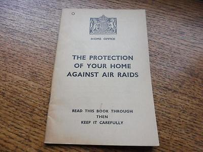 Original WW2 issue Home Front ARP Training Manual 1938 Air Raid Protection