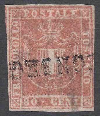Italy Tuscany 22 Town Cancel Xf Appearance $1,900 Scv