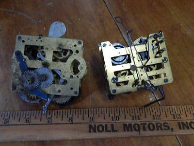 Vintage Cuckoo Clock Movement Only, + 1 Unmarked Clock Movement!