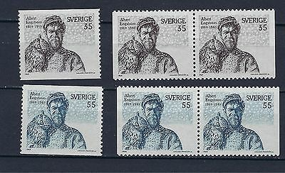 Sweden Scott 817-820 MNH With Pairs