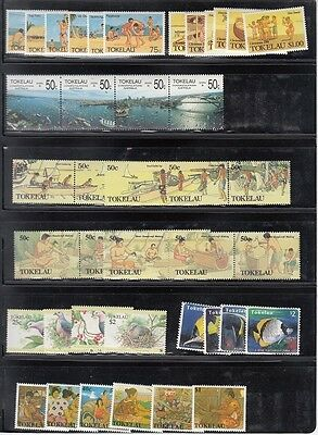 Tokelau Scott 144 // 211 Mint NH sets (Catalog Value $79.85)