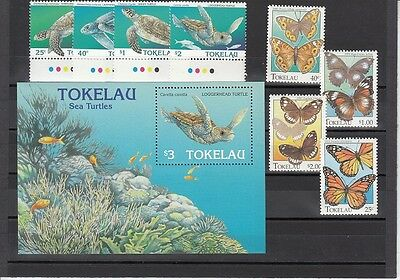Tokelau Scott 213-21 Mint NH (Catalog Value $25.60)