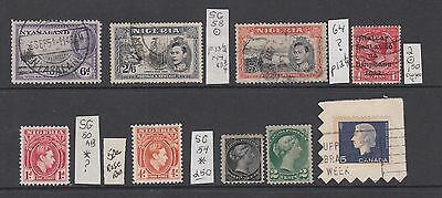 British Colonial Sound Eclectic Collection Lot Sg Specialist