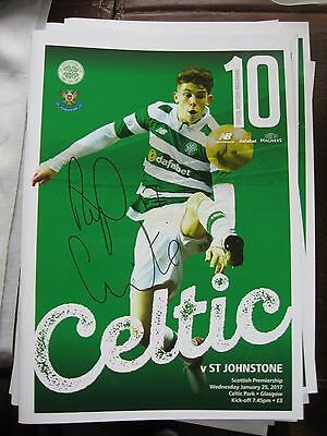 2016-17 Celtic v St.Johnstone Scottish Premier League 25.1.2017