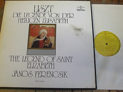 SLPX 11650-52 Liszt The Legend of Saint Elizabeth / Ferencsik 3 LP box