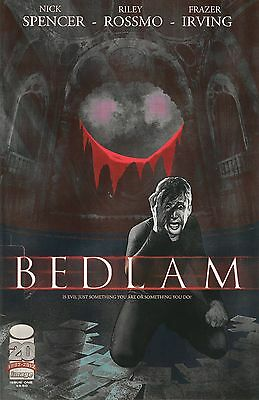 Bedlam # 1-11 Complete Set Nick Spencer Riley Rossmo Image Comics