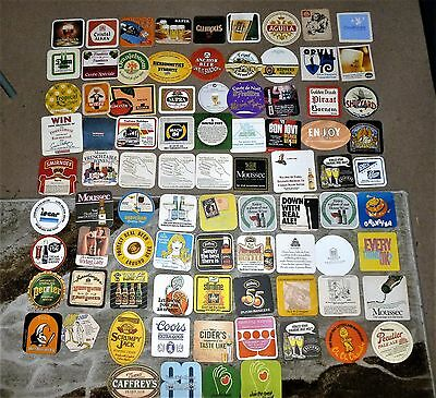 COLLECTION OF 200+  BEER MATS/COASTERS  No. 66  ALL DIFFERENT
