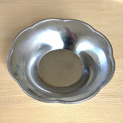 VINTAGE ALFRA ALESSI ITALY  MODERNIST STAINLESS STEEL BOWL No 2
