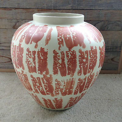 SPONGE DECORATED POTTERY VASE for HABITAT Designer Unknown