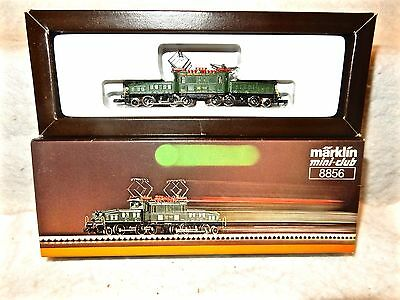 Marklin Mini-Club#8856 Swiss Federal Railways Z scale Crocodile Loco-with box!--