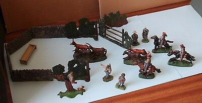 Acw War Games 28Mm Painted Lead 'rebels Coralling The Steers'  V.g.c. - Dixons?