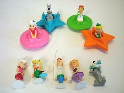 Lot of Vintage Applause Hanna Barbera Jetsons PVC Toys - Figurines & Space Ships