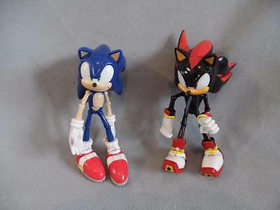 """Collectable Articulated 7"""" Sonic The HedgeHog & Shadow Figures"""