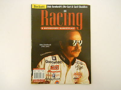 Beckett Racing April 2001 Vol. 8 No. 4 Issue 80: Dale Earnhardt Tribute Magazine