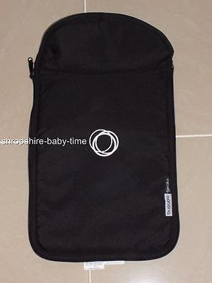 Bugaboo Gecko black zip on carrycot apron