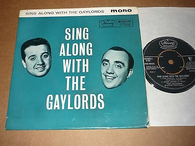 """Gaylords """"Sing Along With....."""" Mercury EP"""