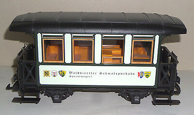 Lgb G-Scale Dining/bar Passenger Car W.germany