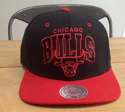 Chicago Bulls Hat Mitchell & Ness Bnwots