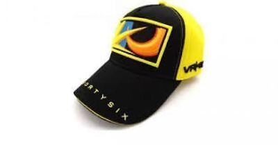 VR46 Valentino Rossi Paddock Cap One Size Fits All Yellow Black