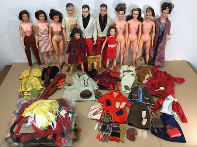 Vintage Remco Littlechap Doll And Clothing Lot Many Tlc