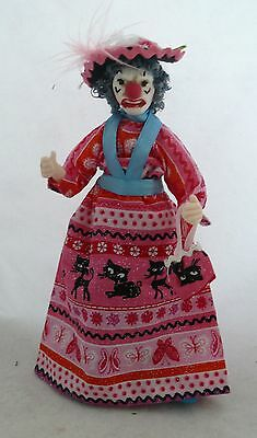 Dolls House Miniature Lady Clown 1-12Th Scale